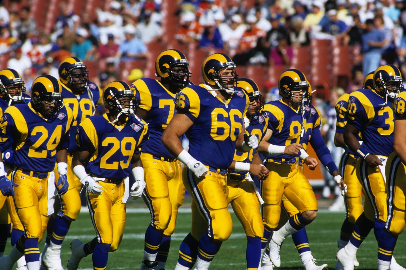 Image result for old la rams